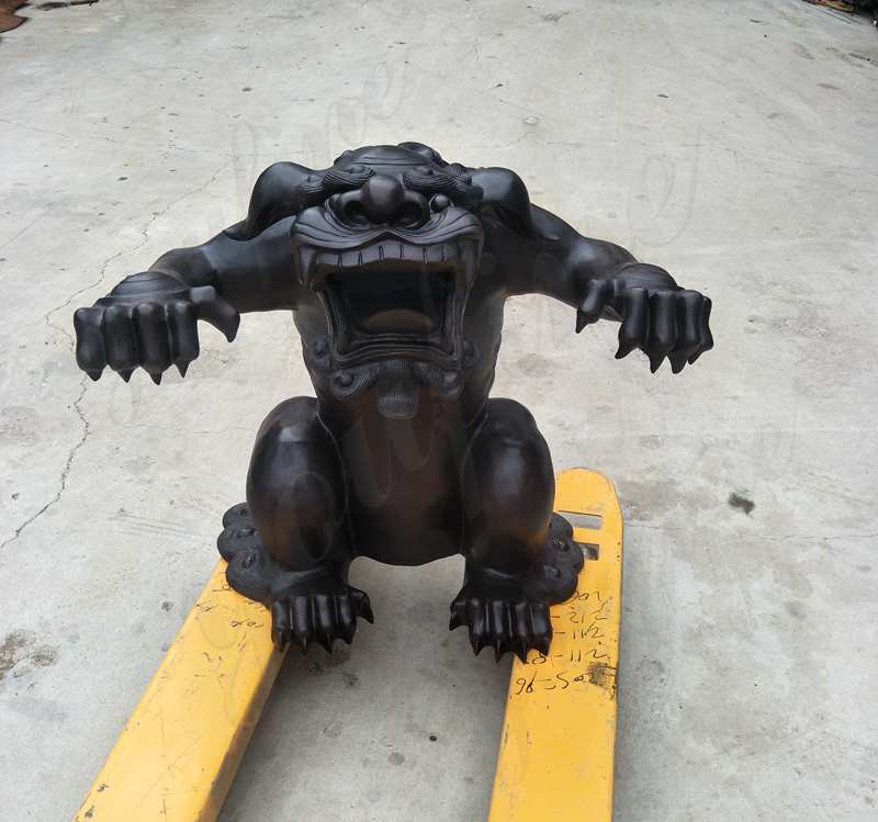 Casting Bronze Monster Sculpture Custom Made