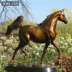 Large Bronze Horse Metal Sculpture Supplier BOKK-248