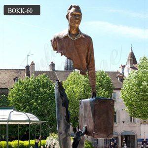 Casting bronze bruno catalano sculpture prices BOKK-60