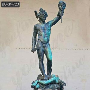 Famous Greek Bronze Perseus and Medusa Statue Replica for Sale BOKK-723