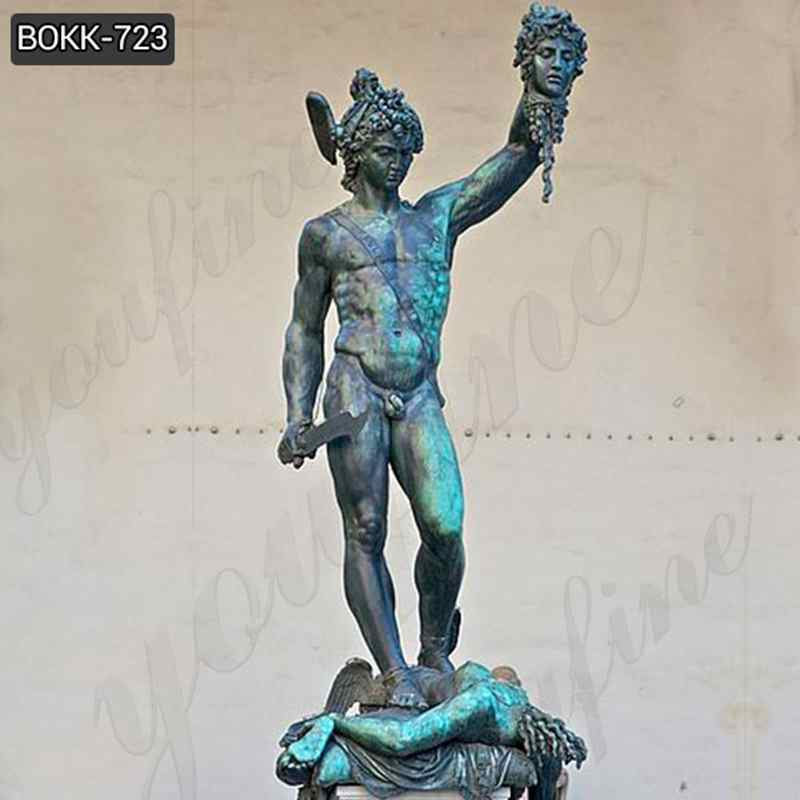 Famous Greek Bronze Perseus and Medusa Statue Replica