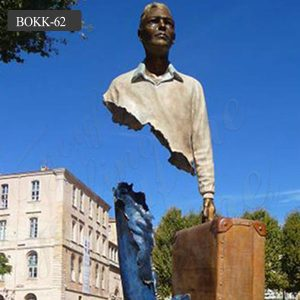 Life size bronze famous bruno catalano sculptures for sale BOKK-62