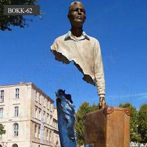 Life size bronze famous bruno catalano sculptures for sale BOKK-62
