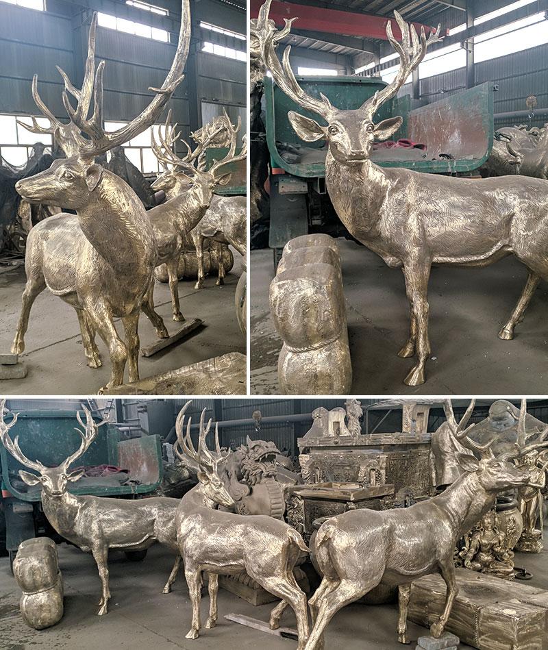 bronze-reindeer-statue