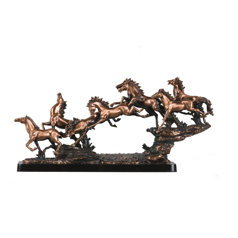 bronze running horse sculptures for sale