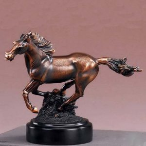 Popular Equestrian Galloping Running Horse Statue