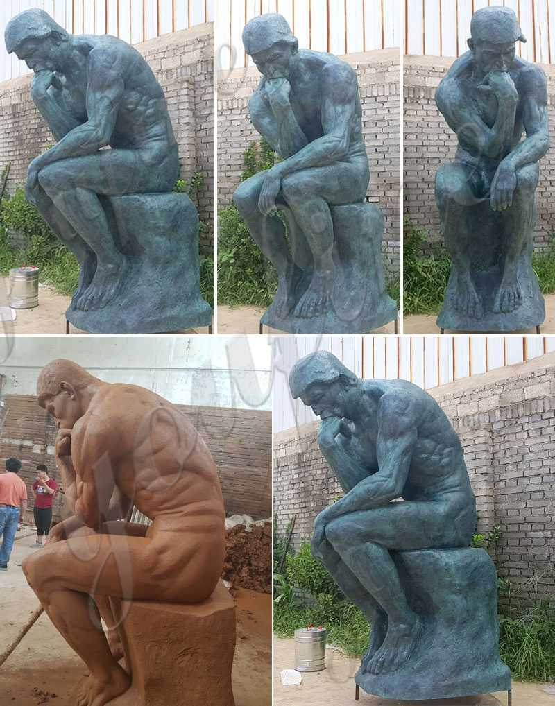 rodin sculpture reproductions for sale