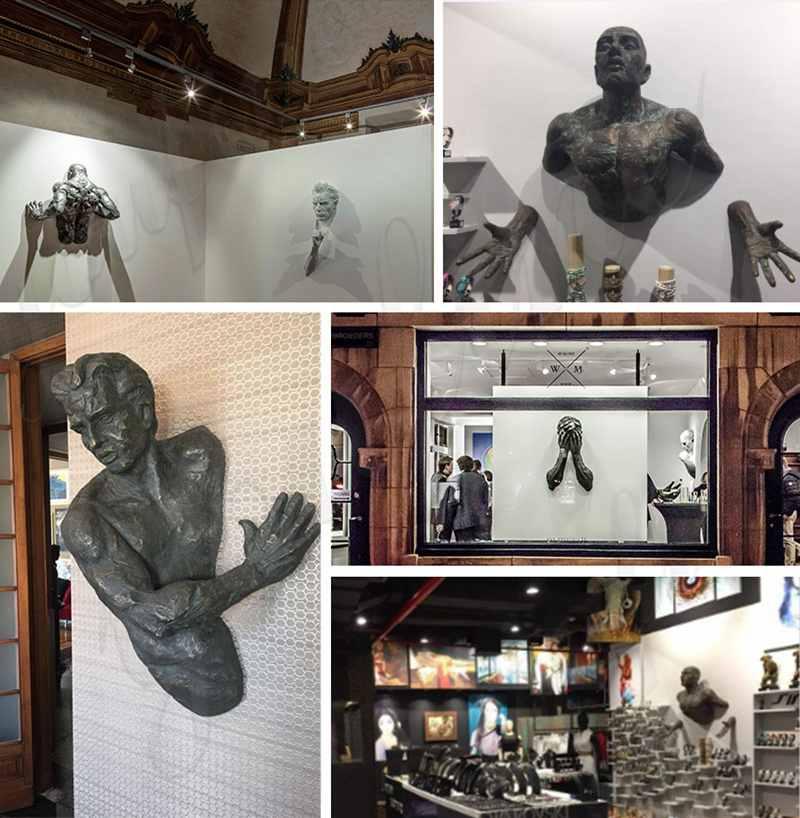 Abstract Bronze Matteo Pugliese Statue