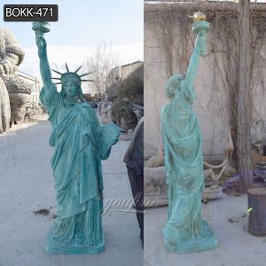 High Quality Antique Bronze Statue of Liberty Replica for Sale BOKK-471