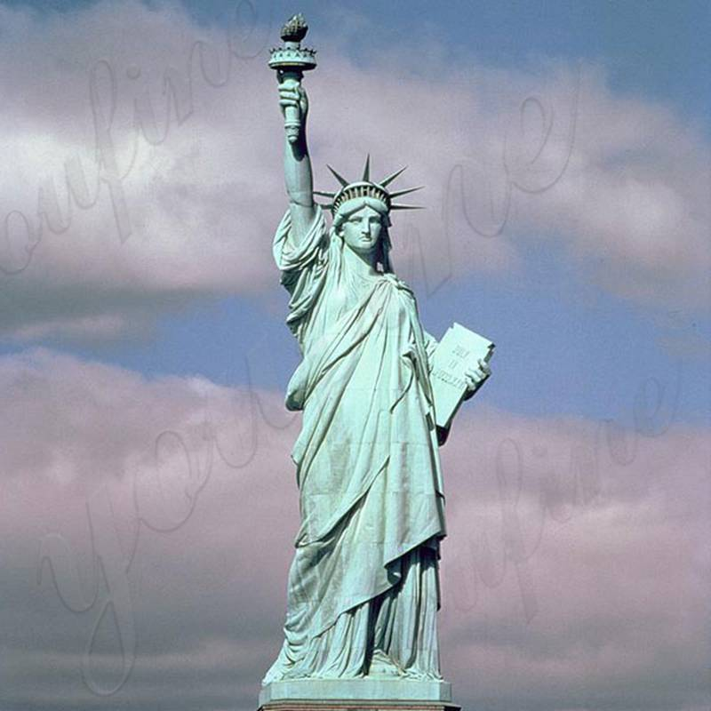 High Quality Antique Bronze Statue of Liberty Replica for Sale