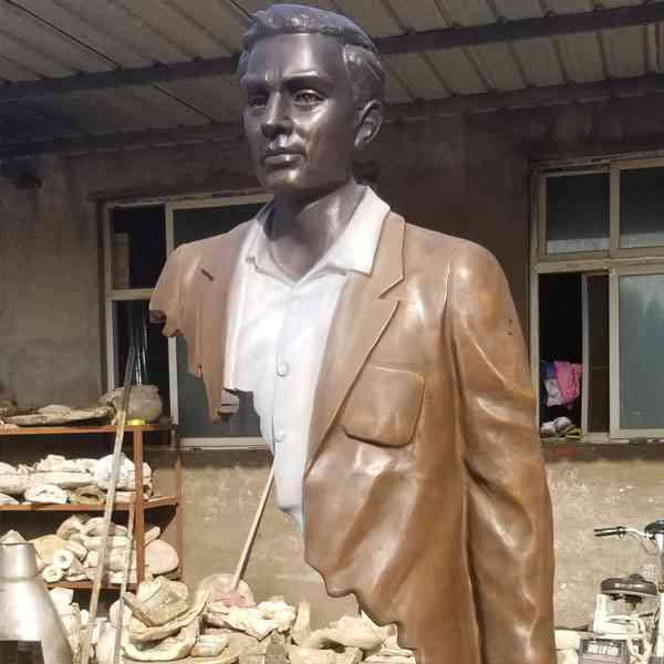 Life Size Bronze Bruno Catalano Traveler Statue