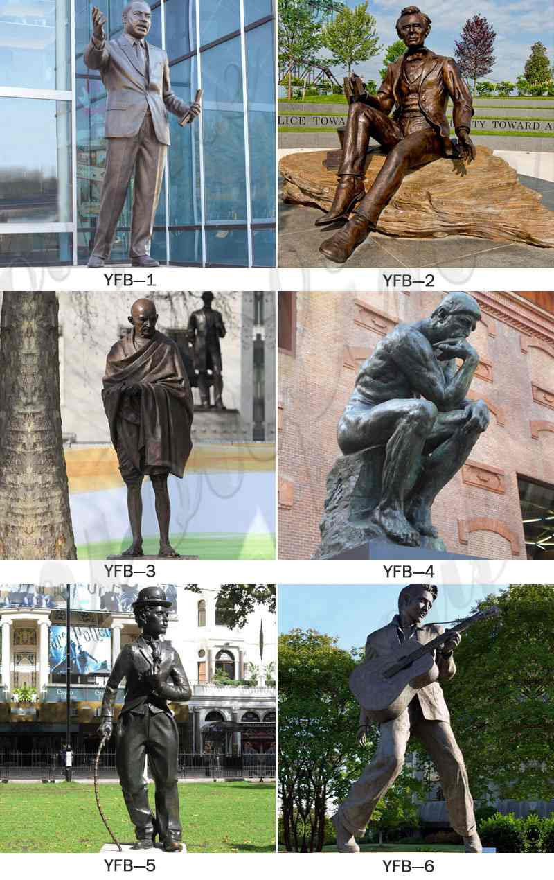 bronze famous statues for sale