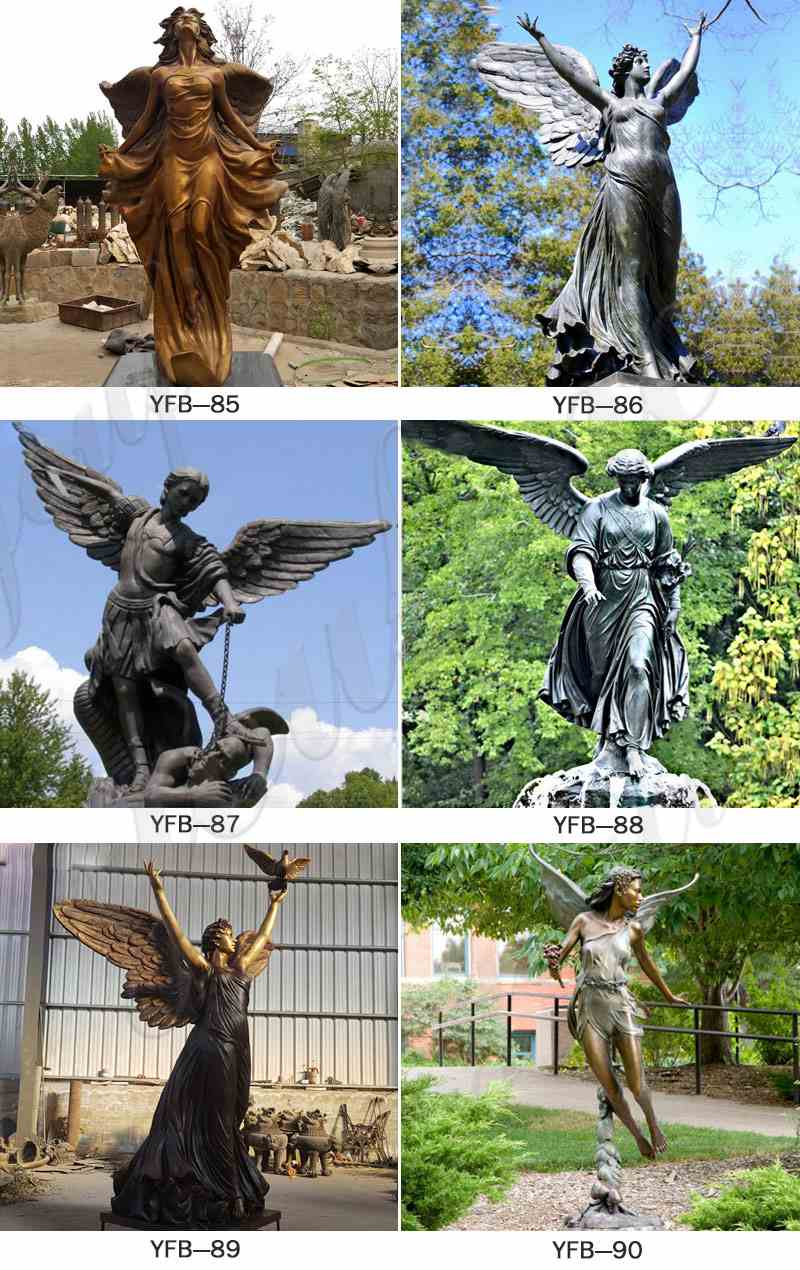 garden angel statues wholesale