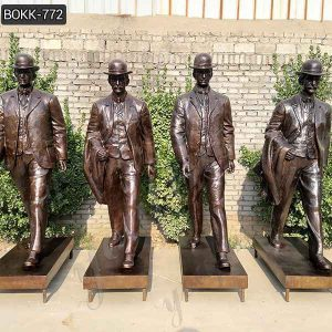 Custom Made Life Size Bronze Wright Brothers Statues for Sale BOKK-772