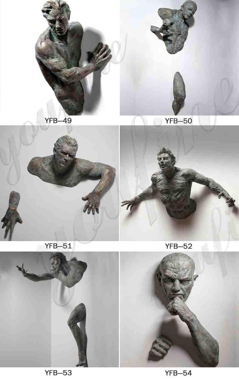 Matteo Pugliese Man Sculpture
