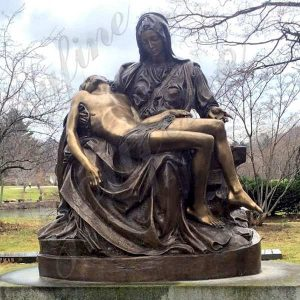 Famous Bronze Pieta Statue by Michelangelo Replica for Sale BOKK-612