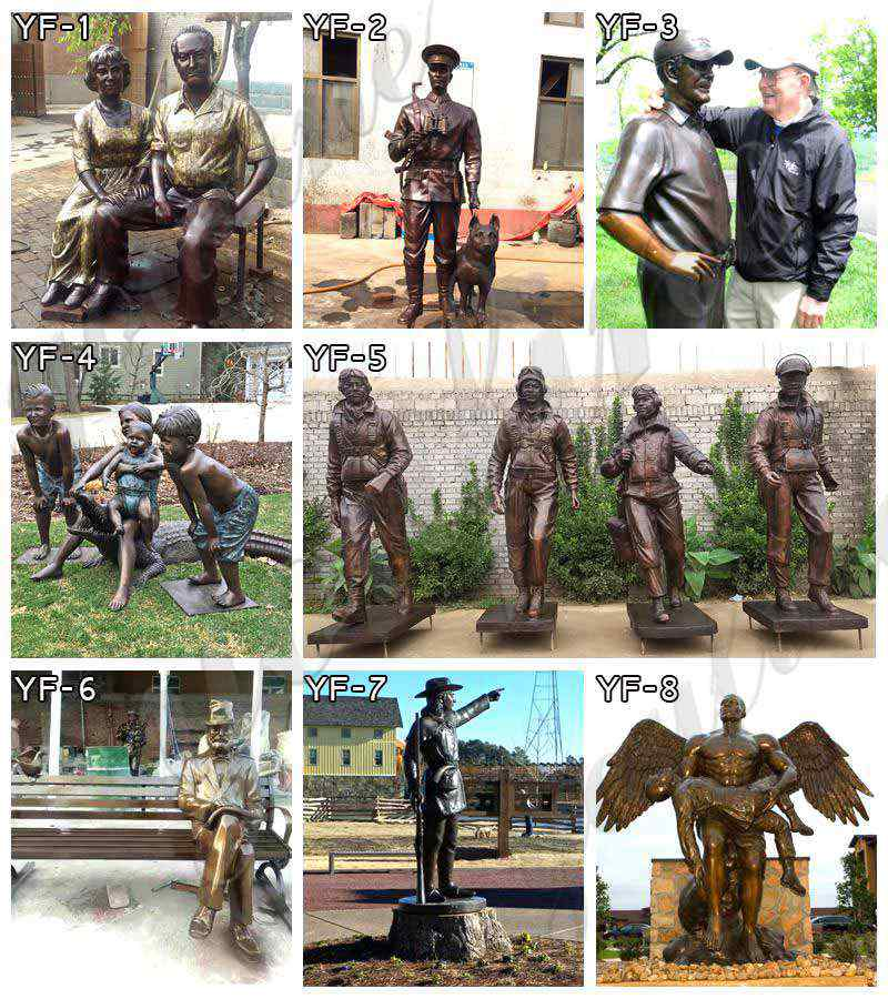 bronze custom statues for sale