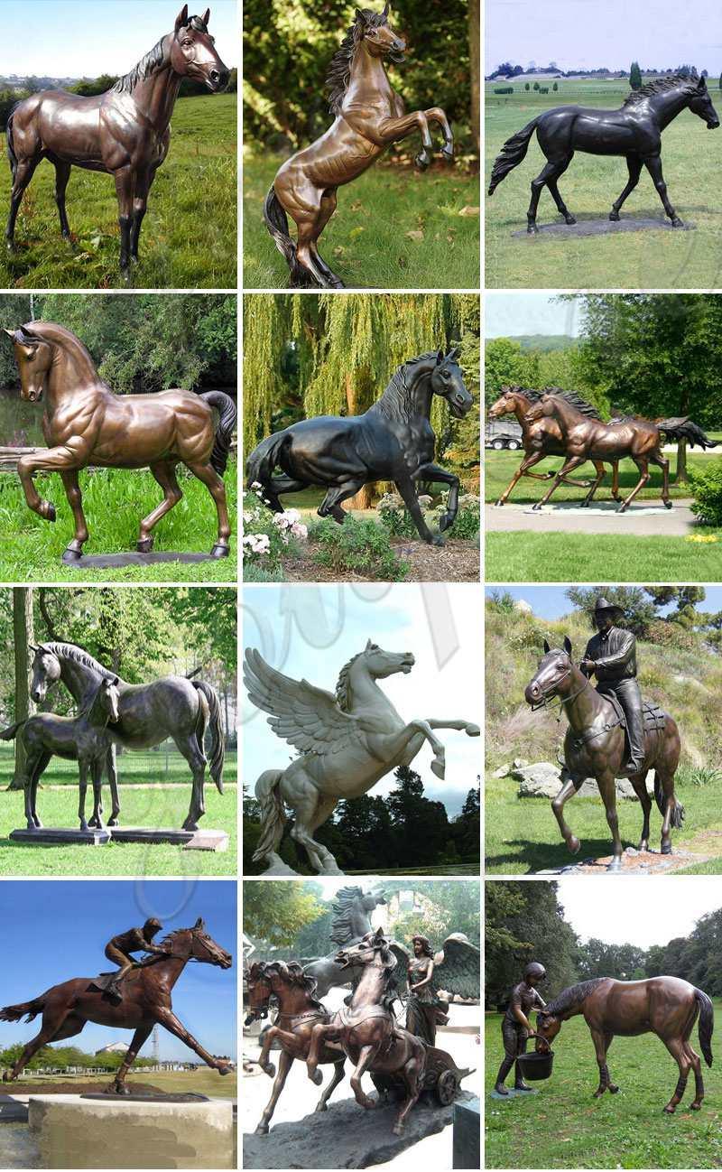 bronze-horse-statue