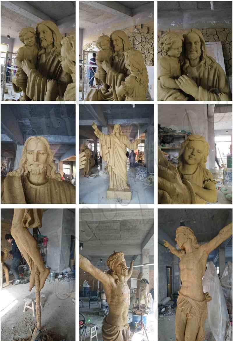 large jesus statue