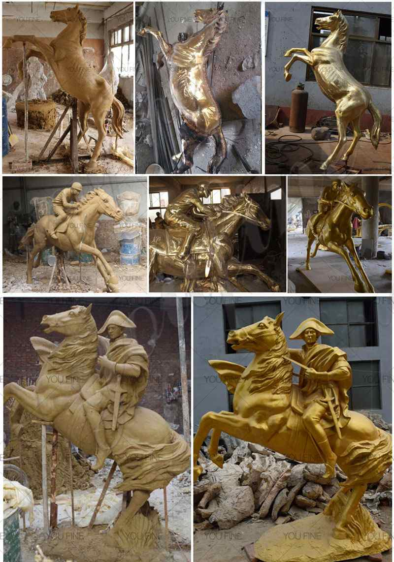 Life Size Horse Statues from Factory Supply