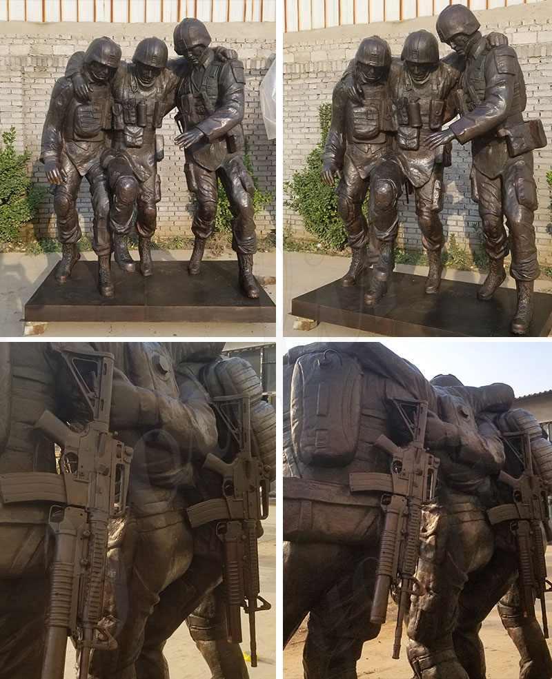 No Man Left Behind Statue