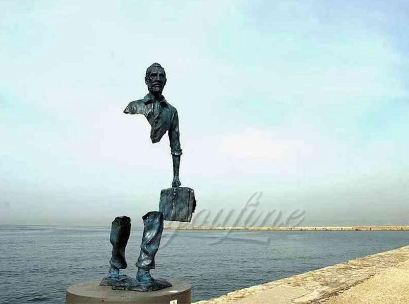 Buy Beautifully Life Size Bronze Bruno Catalano Traveler Statue