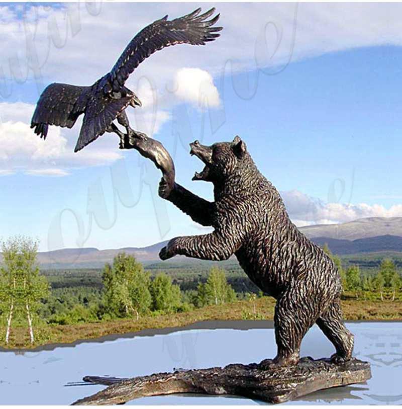 bear statue for garden
