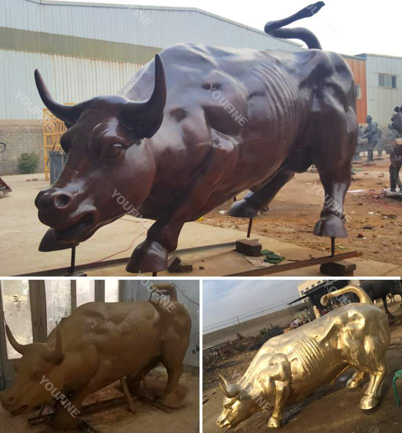 Garden Large Bronze Strong Bull Sculpture for SaleGarden Large Bronze Strong Bull Sculpture for Sale