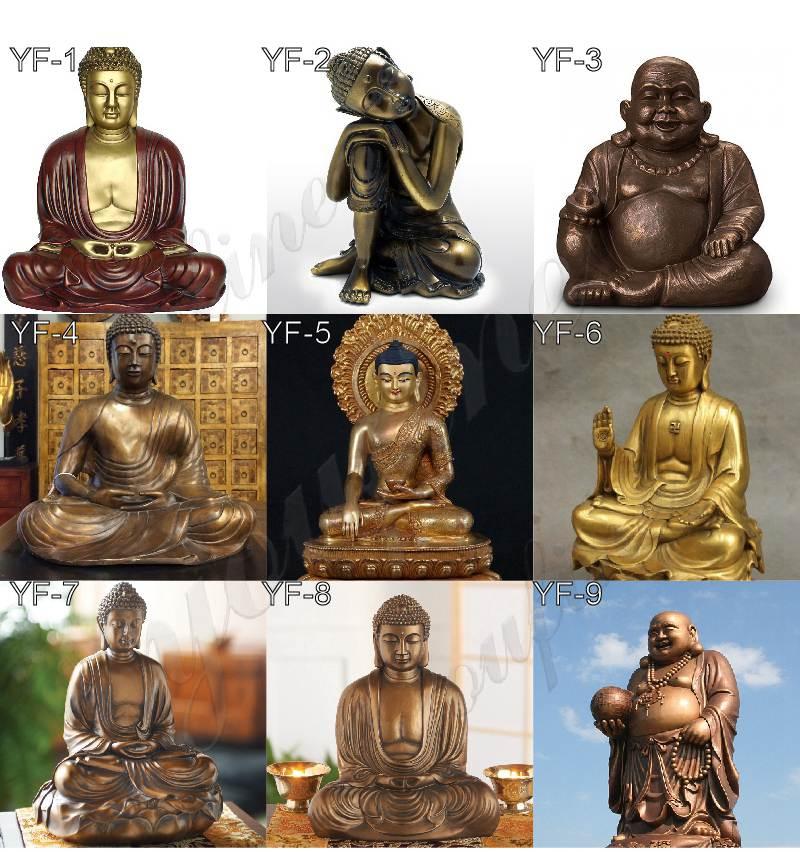 bronze buddha statue-02