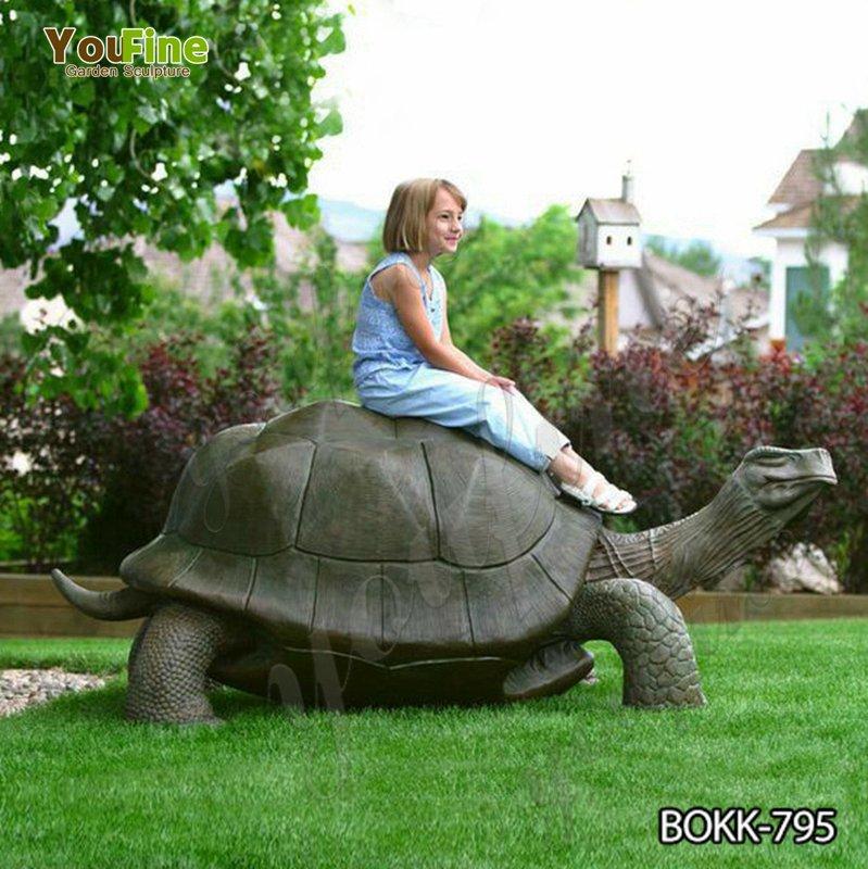 Casting Giant Tortoise Bronze Statue