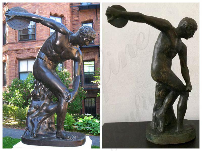 Discobolus Bronze Art Statue