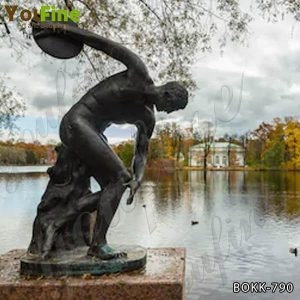 Famous Art Bronze Discobolus Sculpture Replica Supplier BOKK-790