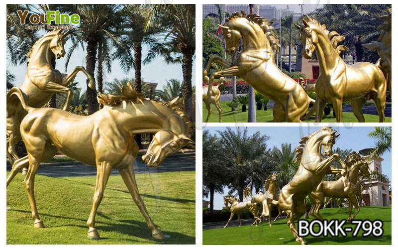 Various Styles Life Size Bronze Horse Statues for Sale