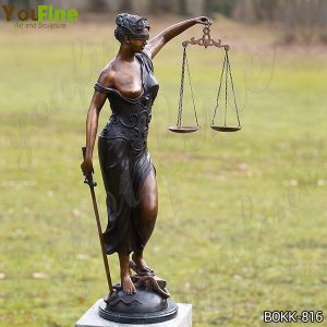 Greek Bronze Goddess of Justice Themis Sculpture for Sale BOKK-816