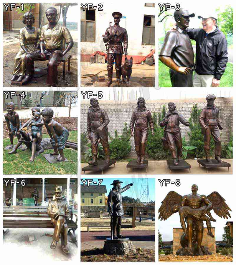 Custom made bronze statue for sale
