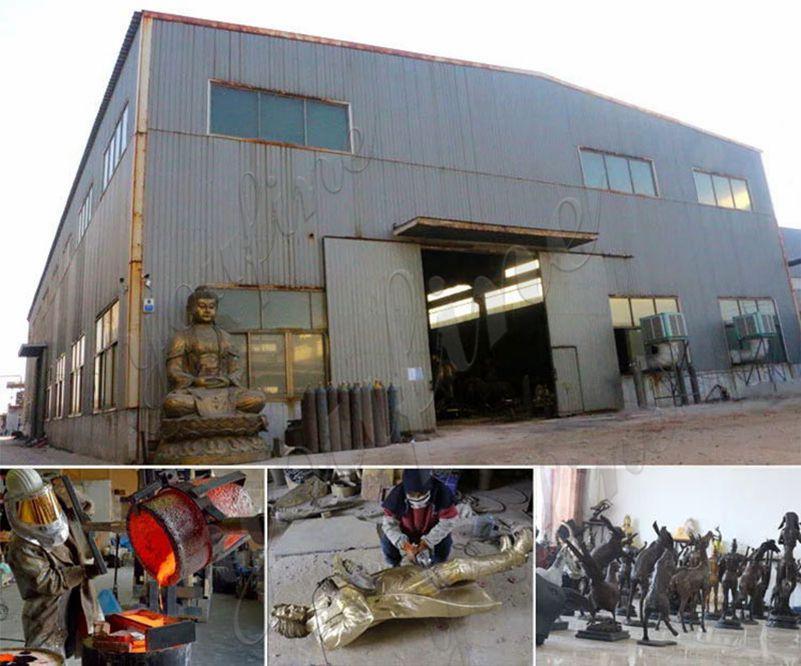 bronze-factory display
