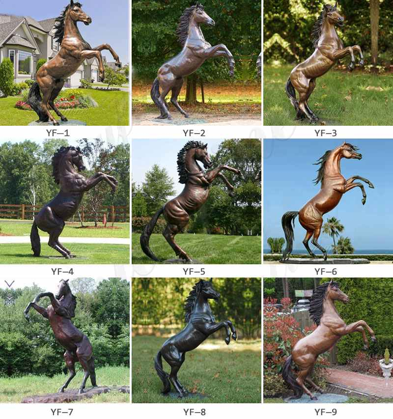 life size horse statues for sale