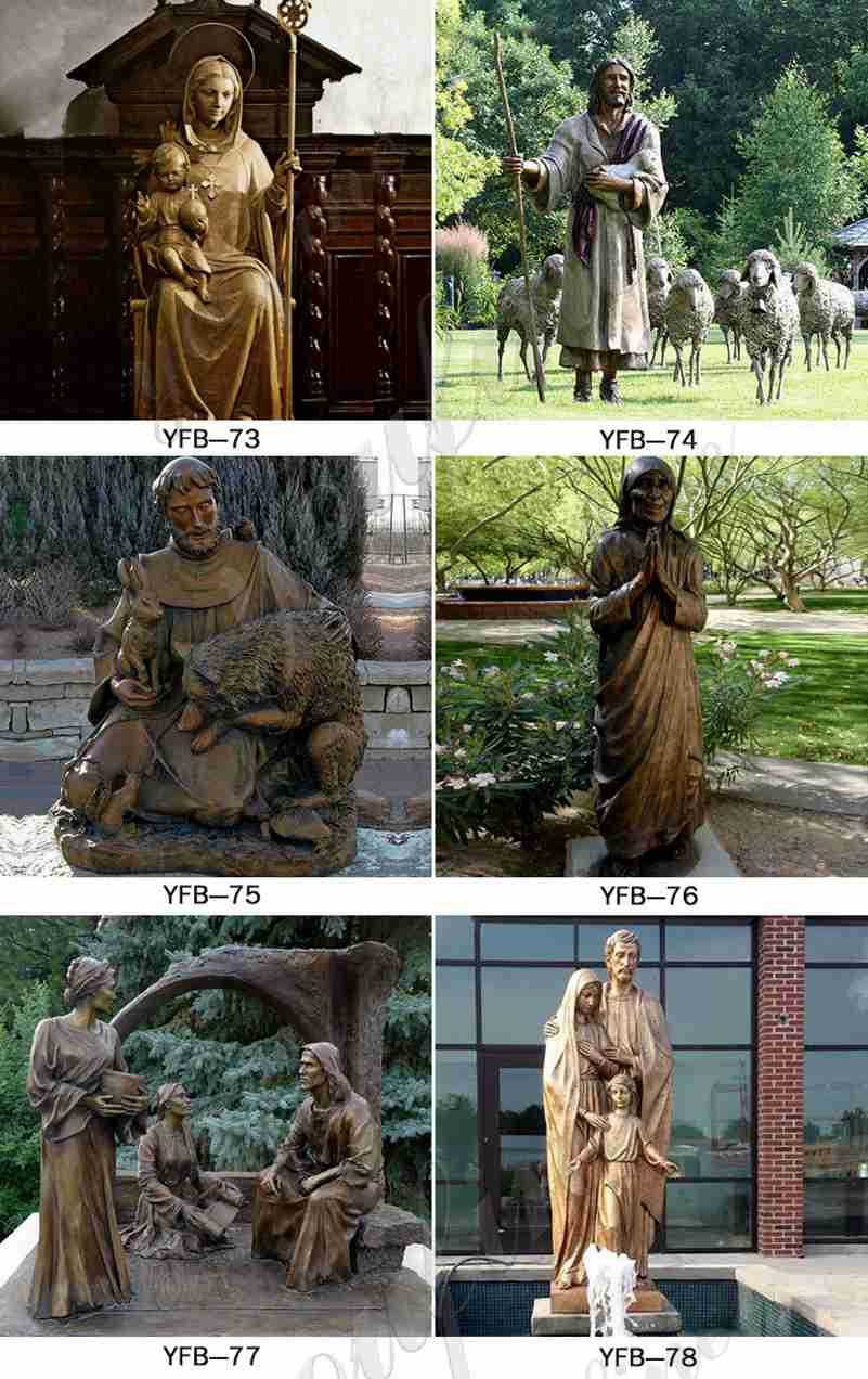 saint charbel statue