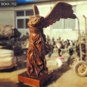 Large Antique Bronze Goddess of Victory Statue Replica for Sale BOKK-702