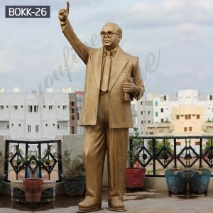 Replica of Famous B. R. Ambedkar Bronze Statue for Sale BOKK-26