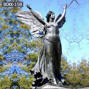 Bronze Life Size Angel Statue for Outdoor Garden Suppliers BOKK-158
