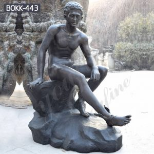 Classic Life Size Bronze Hermes Resting Statue for Sale BOKK-443