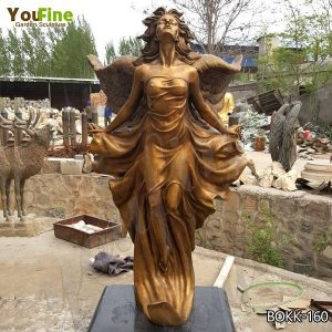 Custom Made Bronze Winged Angel Sculpture for Sale BOKK-160