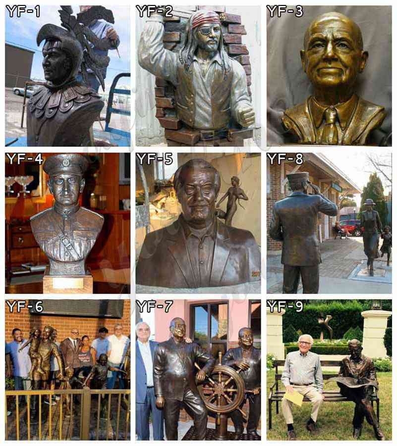 Famous bronze statue for sale