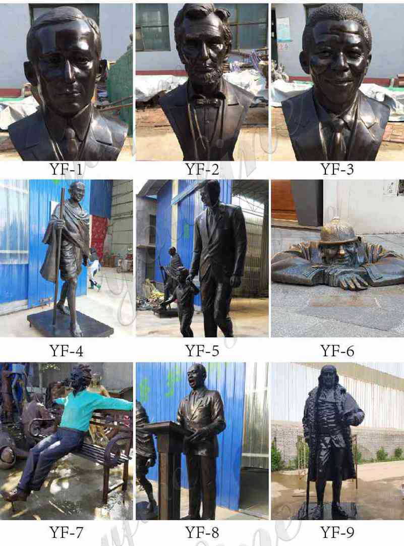 custom made bronze statues