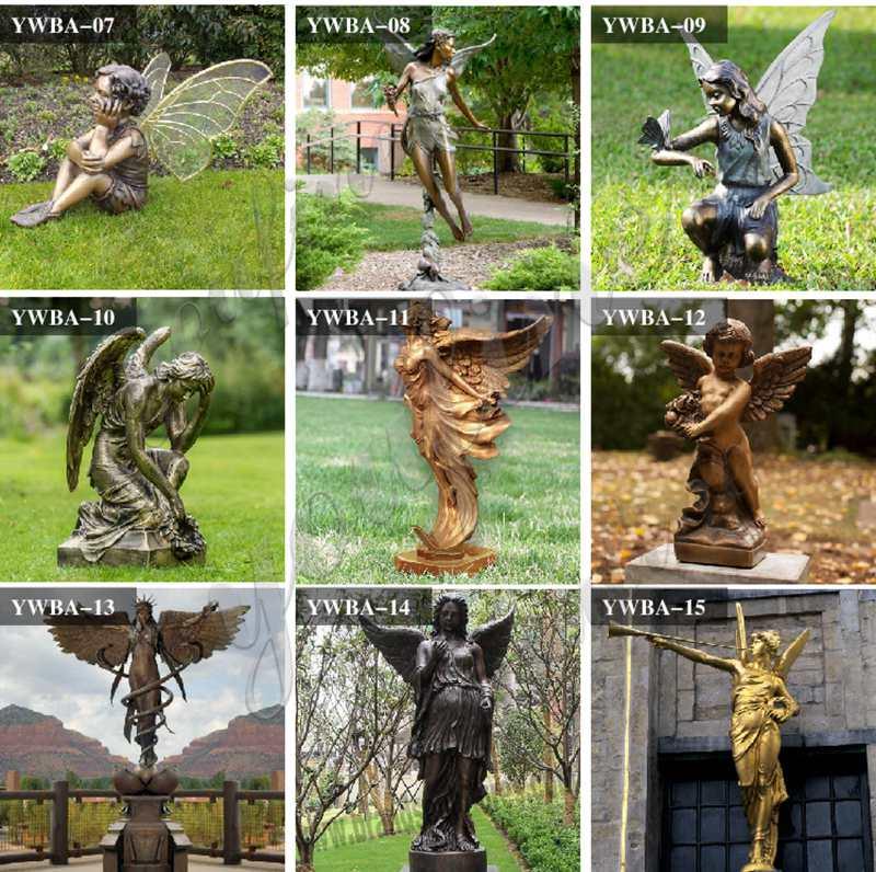 garden angel statues wholesale