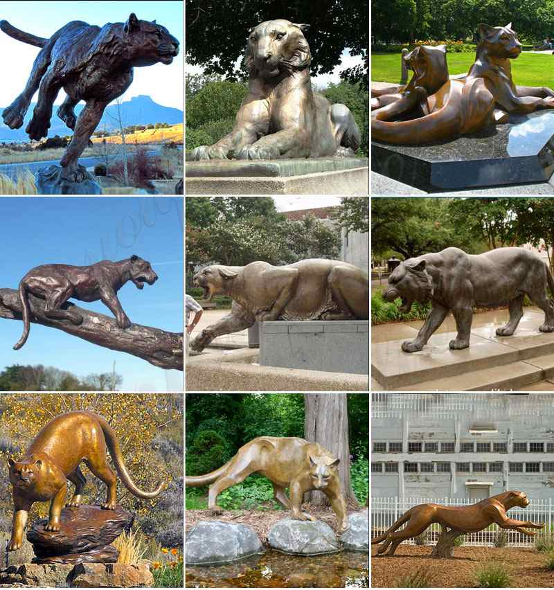 large bronze big tiger statue for sale