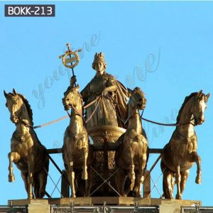 Classic Large God Apollo Chariot Bronze Statue for Sale BOKK-213