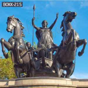 Famous Bronze Queen Boadicea and Her Daughters Statue for Sale BOKK-215