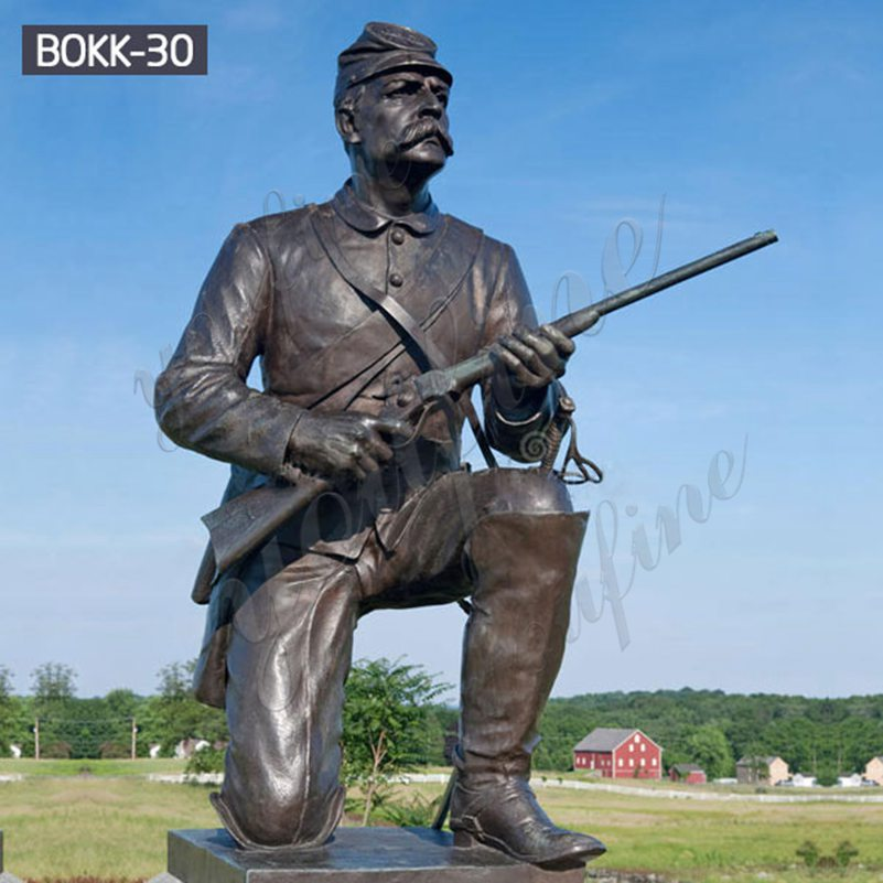 Monument Military Gettysburg Soldier Bronze Statue for Sale